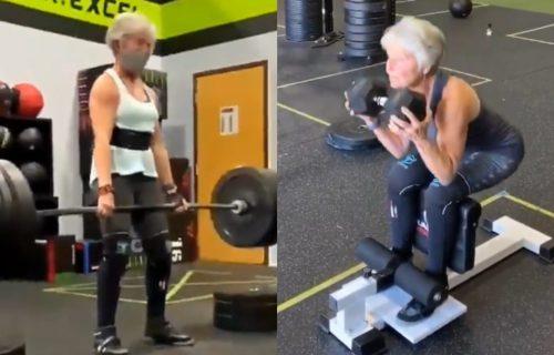 Sa 60 godina je počela da TRENIRA, a sada diže 250 kilograma: Baka (71)  koja obara rekorde (FOTO+VIDEO)