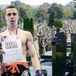 Jauci PARALI NEBO dok su spuštali sanduk: Sahranjen MMA borac Bogdan (19) koji je tragično nastradao