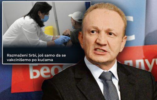 Đilas napao građane preko svog portala: Razmaženi Srbi, da nećete možda i po kućama da vas vakcinišu?!
