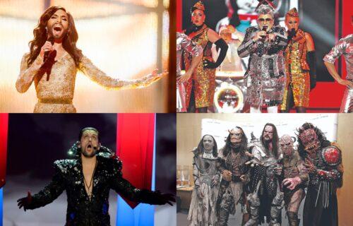 Najneobičniji i NAJSMEŠNIJI nastupi sa Evrovizije poslednjih godina: Od DRAKULE do bradate žene (FOTO)