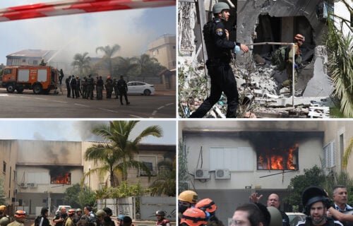 Napadnut Izrael! Hamas ispalio 130 raketa, među poginulima i deca (FOTO+VIDEO)