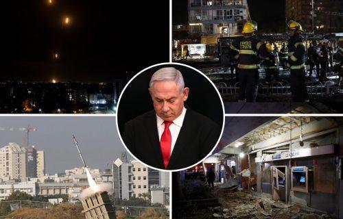 """Oglasio se Netanijahu nakon sastanka sa vojnim vrhom! Izrael zapretio Hamasu - """"Platićete"""""""