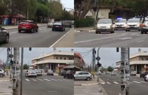 Još jedan UDES u Nišu: Nakon stravične nesreće došlo do LANČANOG sudara, povređena jedna osoba (VIDEO)