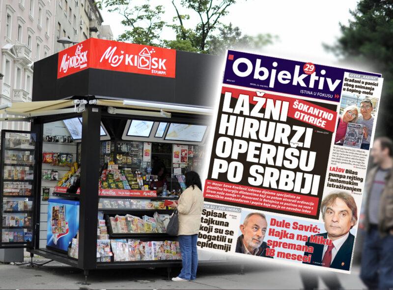 Sutra u novinama Objektiv: Lažni hirurzi operišu po Srbiji, Savić stao u Mikinu odbranu (NASLOVNA STRANA)