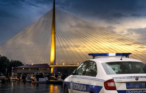 Nesreća na Mostu na Adi: U lančanom sudaru kamiona i dva vozila ima povređenih