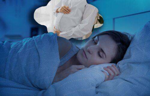 sanjati da si trudna