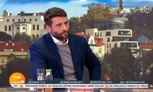 """Šapić """"preslišao"""" novinarku na Đilasovoj televiziji: Napala ga, a on JEDNIM PITANJEM sve objasnio (VIDEO)"""