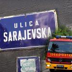 Čak 20 vatrogasaca gasilo VATRENU stihiju u Sarajevskoj: HITNO evakuisano dvoje dece i muškarac