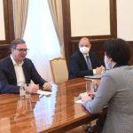 Predsednik Vučić se sastao sa ambasadorkom Čen Bo: Razgovarali o novim infrastrukturnim projektima (FOTO)