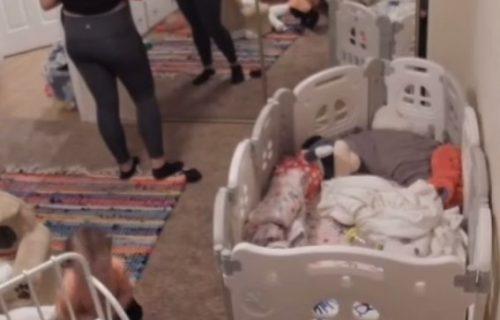 Proći će vas jeza: Majka čula NEOBIČNE ZVUKOVE u bebinoj sobi, pa se zaprepastila (VIDEO)