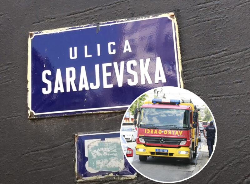 Evo šta je UZROK požara u stanu u Sarajevskom: Za sve je kriva jedna stvar, vatrena stihija ugašena