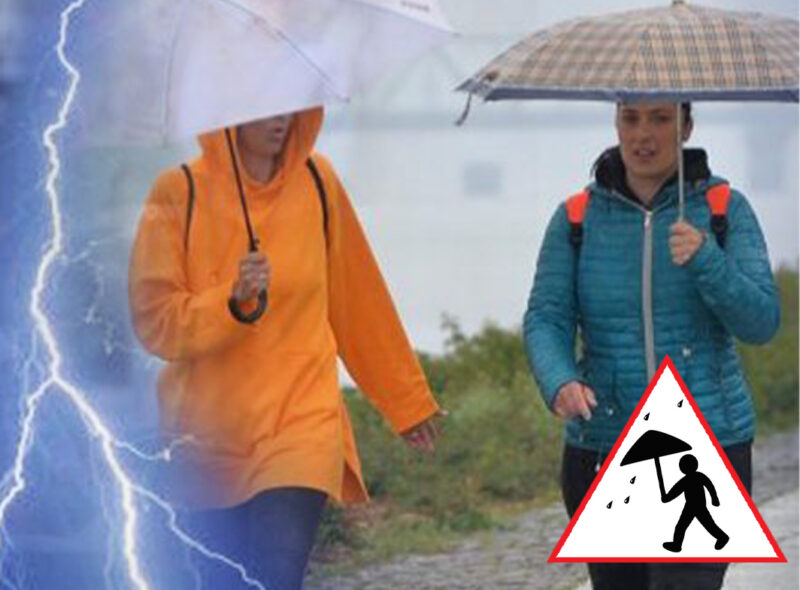 Dva upozorenja RHMZ: Paklene vrućine i dalje u južnom delu Srbije, a u ovim krajevima KIŠA sa grmljavinom