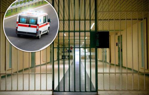 Samoubistvo u zatvoru u Sremskoj Mitrovici: Osuđenik sebi žiletom prerezao vene