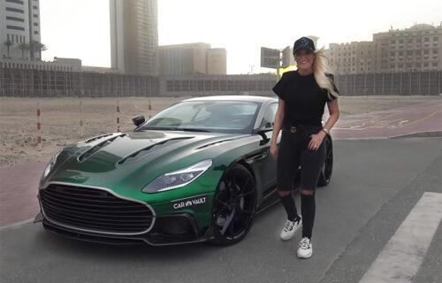 Luksuz obojen srebrno: Zavirite u jedinstveni Mansory Aston Martin DB11 (VIDEO)