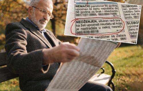 """ŠOK oglas """"zapalio"""" Srbiju: Muškarac traži ženu za brak, ali ima jedan BIZARAN zahtev (FOTO)"""