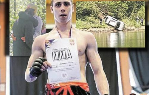 """Majka zapomagala """"Bogdane, vrati se! Ubiću se!"""": Potresne FOTOGRAFIJE sa mesta pogibije MMA borca (FOTO)"""