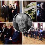 Komemoracija Đorđu Marjanoviću započela POSEBNOM PESMOM: Porodica i kolege se opraštaju od pevača (FOTO)