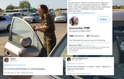 """""""Ide da UBIJA"""": Napala Srpkinju jer ratuje protiv Hamasa - Mijin otac u dve REČENICE sve objasnio (FOTO)"""