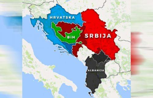 """Britanski diplomata ŠOKIRAO region: """"Treba stvoriti Veliku Hrvatsku, Veliku Srbiju i Veliku Albaniju"""""""