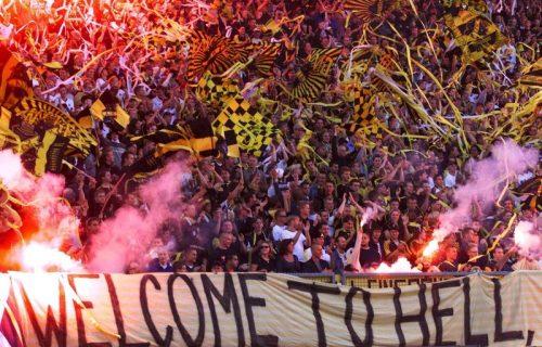 Na stadionu dozvoljeno 8 ljudi, u tržnom centru nema ograničena: Navijači izveli genijalnu akciju (FOTO)