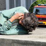 Drama na Uskrs u Nišu: Beskućnik ZAGLAVIO glavu u lim, umalo prerezao vrat, spašavali ga vatrogasci
