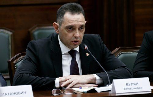 """Ministar Vulin: """"Srpska policija je spremna da se obračuna sa NAJSUROVIJIM kriminalnim grupama"""""""