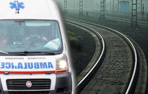 Muškarac (35) pokušao da izvrši samoubistvo: NOVA SAZNANJA o nesreći na železničkoj stanici Tošin Bunar
