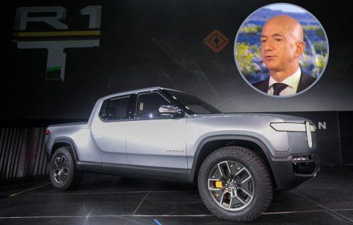 Bezos se poigrao s Rivianom R1T pre drugih: Električni kamionet debituje u junu (VIDEO)