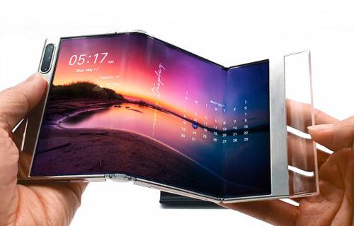 Samsung otkrio adute: Savitljivi OLED paneli za budućnost (FOTO)