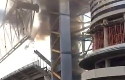 """Izbio požar na stadionu Real Madrida: Goreo """"Bernabeu"""", drama u prestonici Španije! (VIDEO)"""