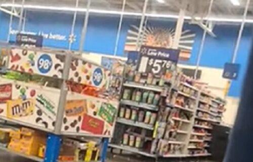 Ušli u prodavnicu da se sklone od oluje, ali i unutra su umalo nastradali (VIDEO)