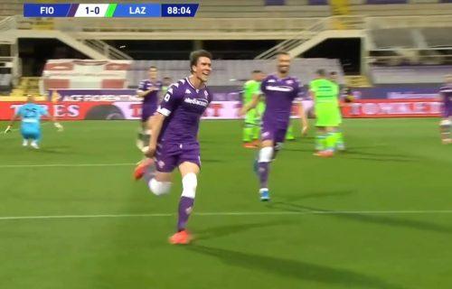 Kakav Batistuta, Vlahović je zakon: Gol mašina sa dva komada ostavila Fiorentinu u Seriji A! (VIDEO)