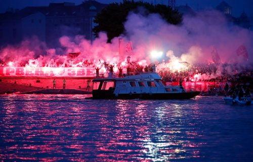 "Zvezdin ""Bal na vodi"" iz drugog ugla: Fenomenalne slike sa proslave titule obišle čitavu Evropu! (FOTO)"