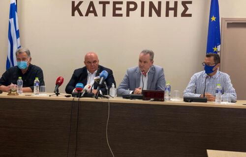 Priređen prijem za srpsku delegaciju na čelu sa Draganom Markovićem Palmom u Katerini (FOTO)