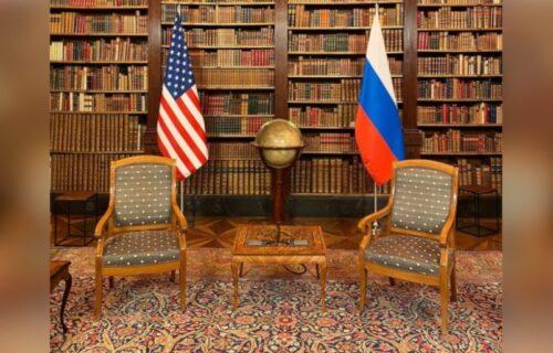 Ovo je SOBA u kojoj će razgovarati Putin i Bajden: Stolice, zastave i veliki globus (FOTO)