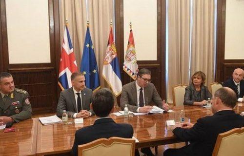 Sastanak sa Volasom: Vučić razgovarao sa ministrom odbrane Ujedinjenog Kraljevstva