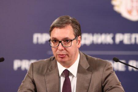 Predsednik Vučić danas predsedava Savetom za nacionalnu bezbednost