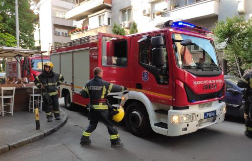 ZAPALIO se restoran na Bežanijskoj kosi: Zbog kvara električne sklopke buknula vatra, ekipe na terenu