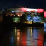 GORI Petrovaradinska tvrđava: Vatrogasci na licu mesta, sumnja se da su navijači bacili BAKLJU (VIDEO)