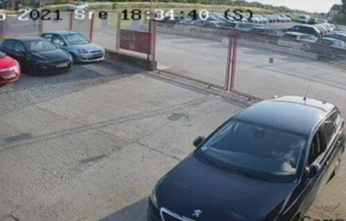 Snimak nesreće kod Šapca: Obratite pažnju na gornji levi ugao, ovako je poginuo motociklista (VIDEO)
