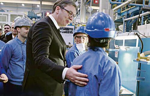Vučić obezbedio POSAO za 16.835 radnika: Otkrivamo u kojim gradovima će biti OTVORENE nove fabrike