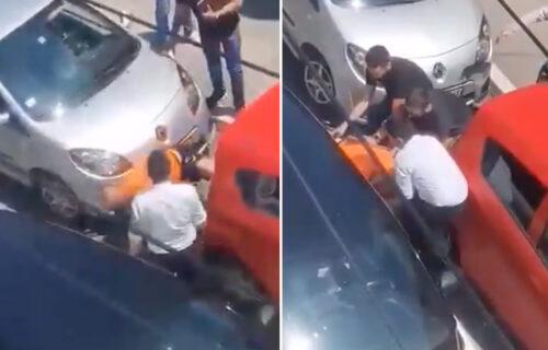 Ovi snimci su ŠOKIRALI Srbiju: Otkriveno kako je sukob počeo, akteri dobro poznati policiji (VIDEO)