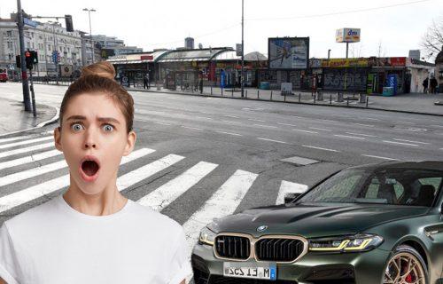 """""""Previše si lepa za trocifren broj"""": Kristini iz Batajnice prišao """"BMW"""" na Zelenom vencu i nastao je MUK"""