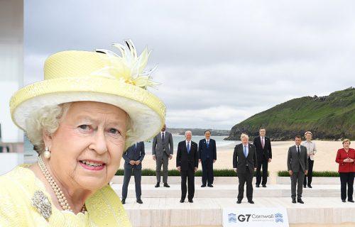 Britanska kraljica NASMEJALA najmoćnije državnike: Njene reči zbunile sve na samitu lidera G7