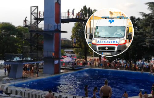 TRAGEDIJA! Preminuo dečak koji se onesvestio tokom skoka u vodu na bazenu u Košutnjaku