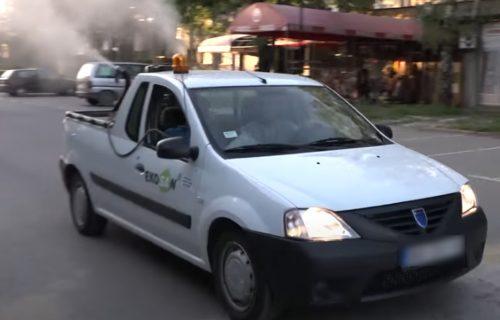 DRAMA! Muškarac napao zaposlene tokom akcije suzbijanja komaraca: Pretio im, pa pokušao da uđe u vozilo