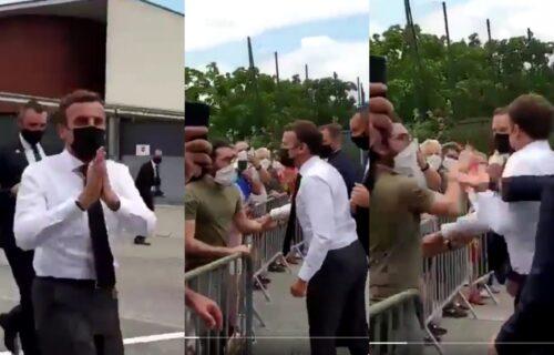 Ponovo bih ga OŠAMARIO: Mladić koji je udario Makrona se oglasio nakon puštanja iz zatvora (VIDEO)