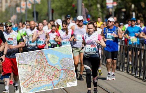 VAŽNO za sve Beograđane: Ovo je detaljan spisak ulica koje će biti ZATVORENE zbog maratona (MAPA)