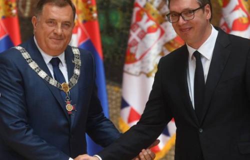 Sastanak Vučića i Dodika: Susret će biti organizovan dan pred dolazak Merkelove u Srbiju