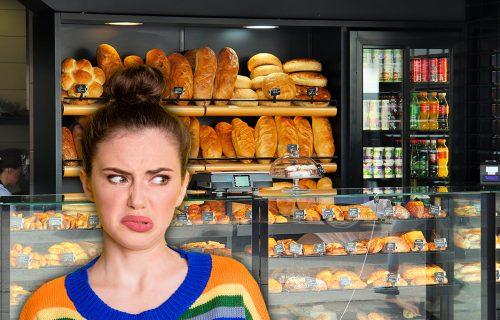 Devojka ušla u pekaru na Vračaru i ZGADIO joj se život: Čula je JECAJE i uzdahe, a onda joj se obratio on